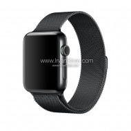 Milanese Watchband untuk Apple Watch 42mm & 38mm, Series 1 & 2 - Black